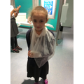 Another happy patient all bandaged up!