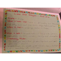Aleena's Dragon Factfile!