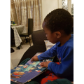 We read stories daily to learn new words and develop our listening skills