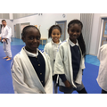 We had lots of fun trying out Judo!
