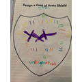 Love your coat of arms, Aleena!