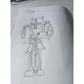 Jack has designed his own knight