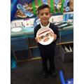 Masoom was very proud of his work!