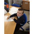 Kane designing a tractor!