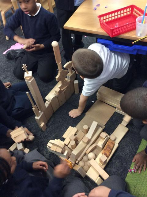 Alex and Rayyan helped to add some towers.