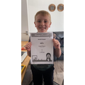 Well done, Jacob! 100% on adverbs - wow!