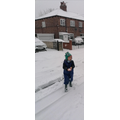 We encouraged children to experience the snow.