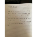 Aleen has been writing amazing stories at home!