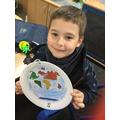 Mikolaj and his map!
