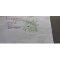 Havisha's incredible drawing of a Lane End Dragon!