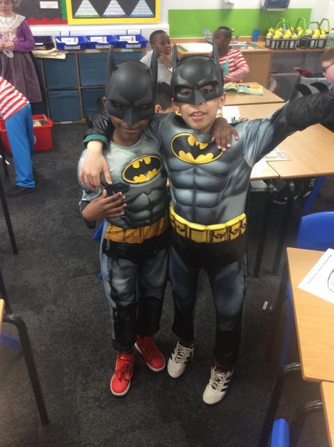 KS2 love superheroes.