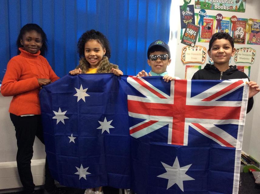 Our chosen country to celebrate was Australia!!!