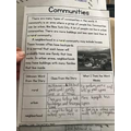 Isabelle's home learning