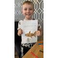 Jacob's amazing shark homework!