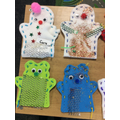 Year 1 puppets.