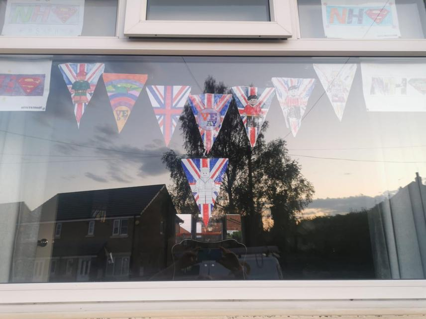 Wonderful VE day flags by Jack