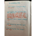 Aleena has been answering comprehension questions!