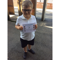 Zack, 3a Star of the week