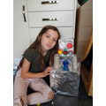Faye's amazing time travelling robot!