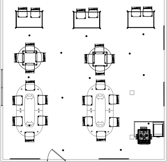Esme's overhead classroom design