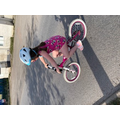 Annie learned to ride a bike (Cecily did too!)