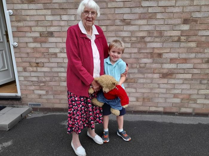 Meeitn great grandma