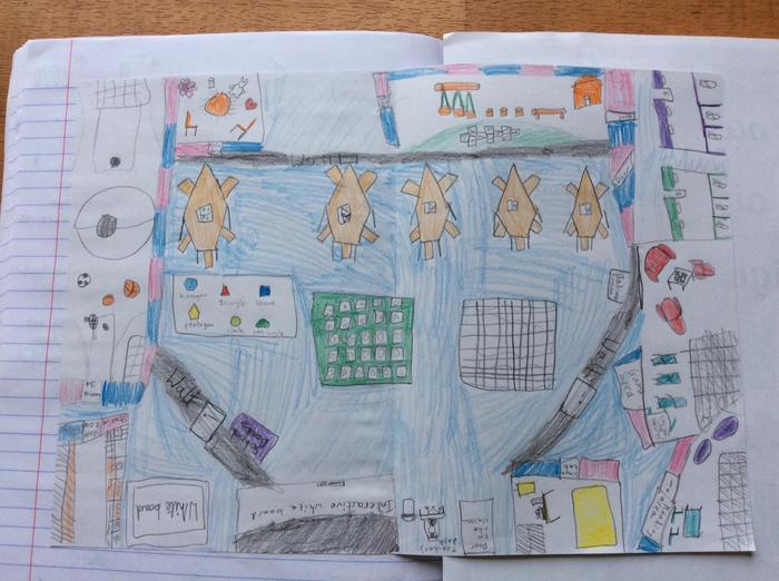 Sophie's classroom design