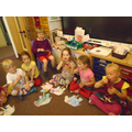 We walked through school waving our elephants and singing the Elmer song