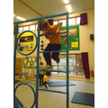 using the apparatus for the first time in PE