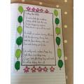 Sophie P's Eco Poem