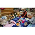 Milo's teddy bear's picnic
