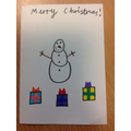 To class 3  - I hope you all have a merry Christmas ! From Ruby