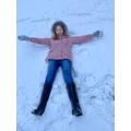 Katelyn the snow angel