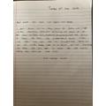 Katelyn's mystery letter