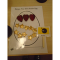 easter egg designs using loose parts