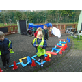 Look at our train track!