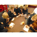 whole class maths - counting using 10 frames