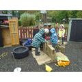 constructing outside