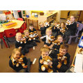 we all love our learning lockdown bears.  They are to say a big well done.