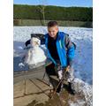 Harry's snow friend