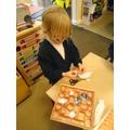 creative thinking - making a box of chocolates
