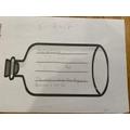 Fynn's message in a bottle