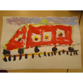 painting train pictures