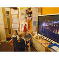 we watched a firework display and made our own firework sounds.
