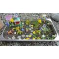 making miniature gardens