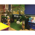 Beech's new reading corner