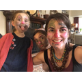 Face paint and dress mummy day