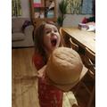 Making a huge loaf of bread!
