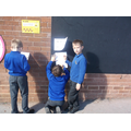 Active maths games are often outside.