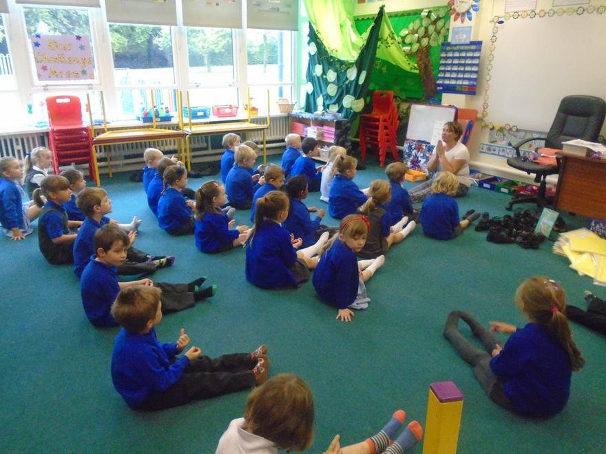 Yoga in Year One!